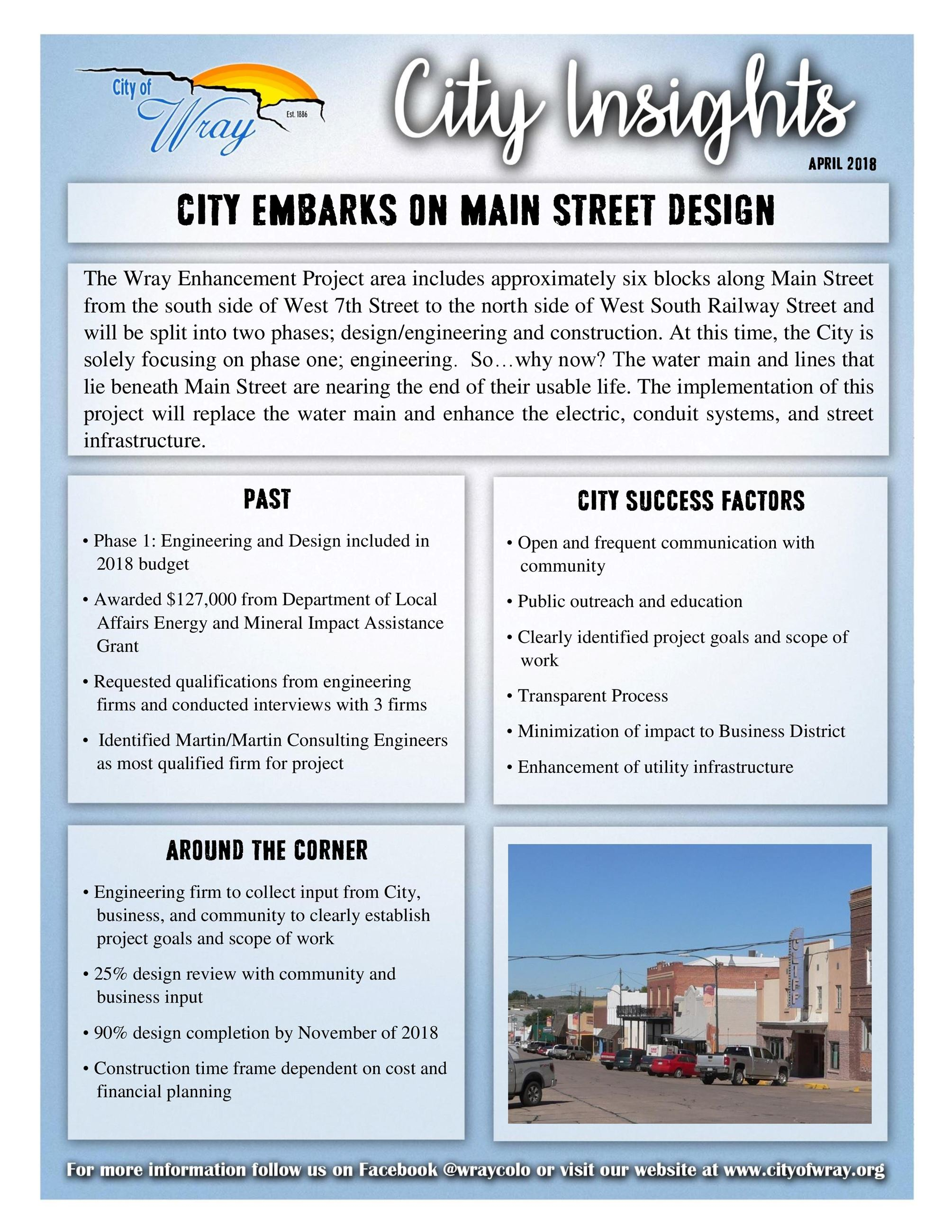 April 2018_Main Street Informtion