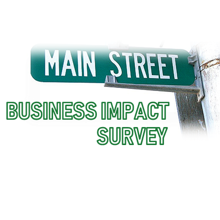 Wray Main Street Enhancement Business Impact Survey Graphic