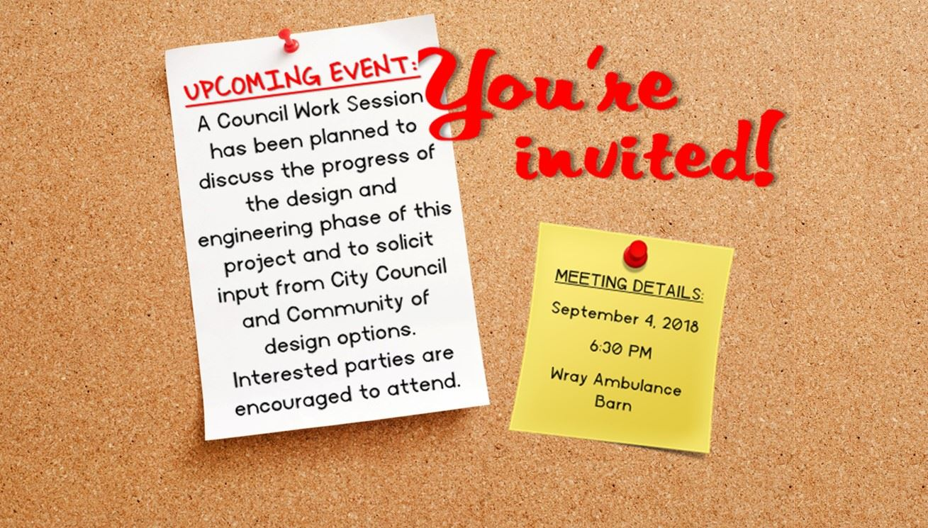 City Council Work Session Invite