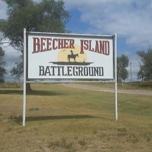 Battle of Beecher Island Location Sign