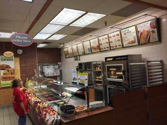 Subway Order Area